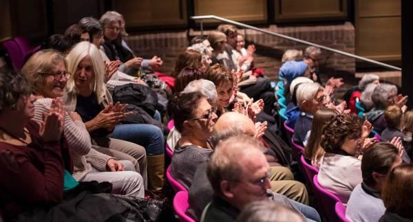 Besucher Griechische Filmwoche Gasteig Unterhaltung