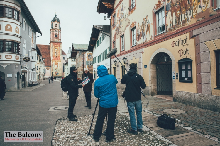 Der Balkon auf der Griechische Filmwoche München.